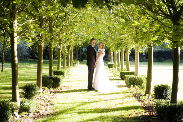 Couple In The Tree Avenue - Dove Barn Wedding Venue