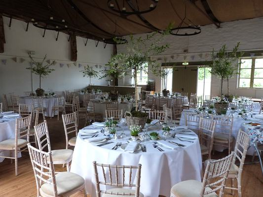 Breakfast With The Trees - Dove Barn Wedding Venue