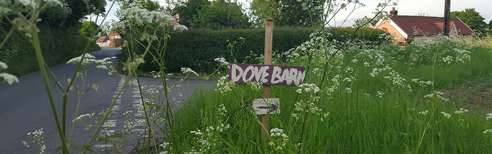Dove Barn Wedding Venue Sign