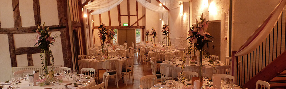 Wedding Breakfast At Dove Barn